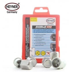 SET OF 4 WHEEL LOCKING NUTS M12x1.25 &  KEY