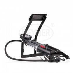 PedalMax PRO double barrel foot pump BLACK EDT