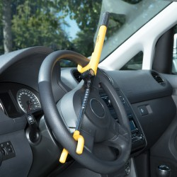 Steering Wheel Lock with Key