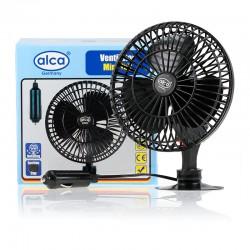 12V Car cooling fan oscilating ventilator